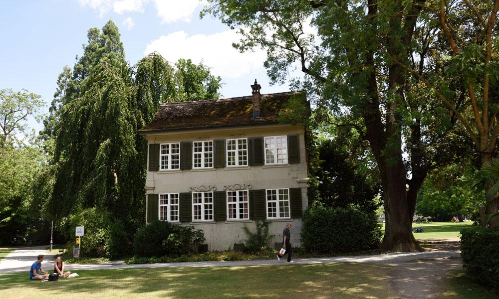 Barockhüsli im Stadtpark Winterthur