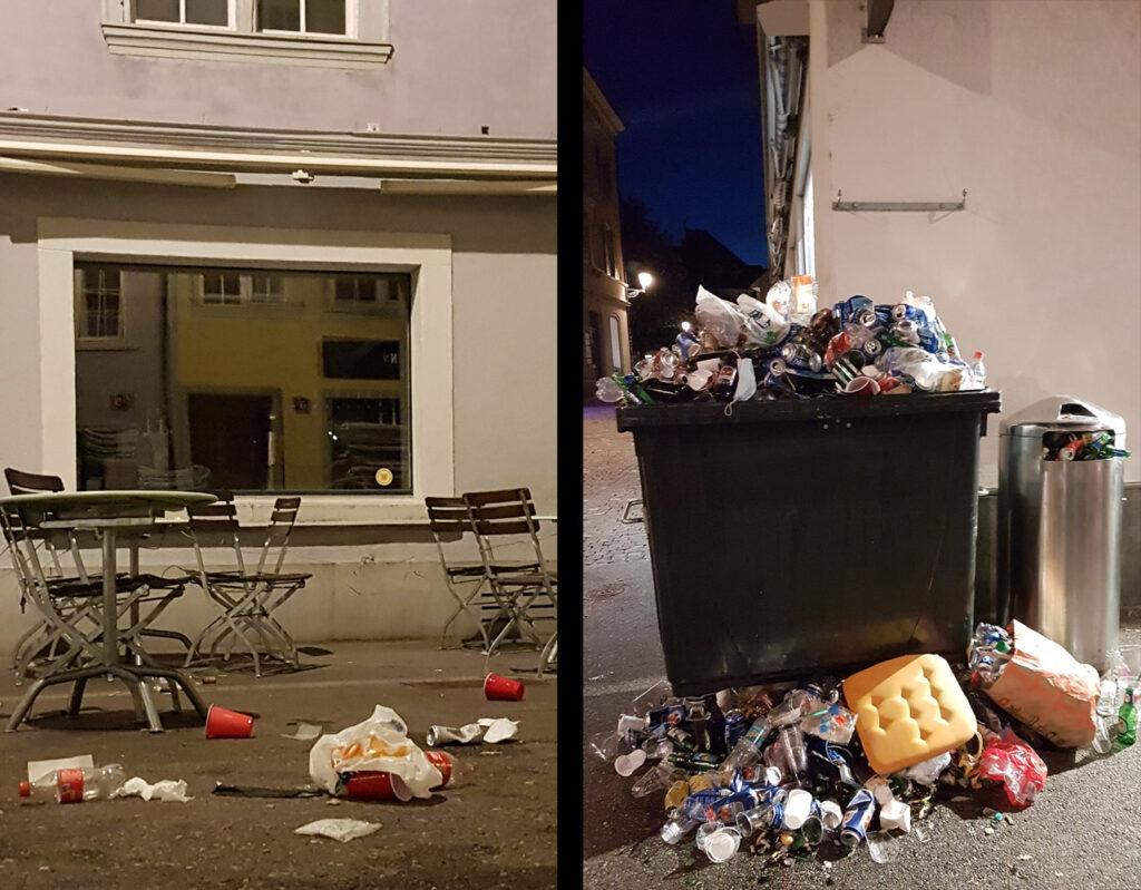 Nachtruhestörung belastet das Leben in der Altstadt